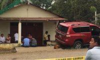 Lugar donde fue atacado a balazos Henry Levi Rodríguez Ramirez en Puerto Barrios, Izabal. (Foto Prensa Libe: Dony Stewart).