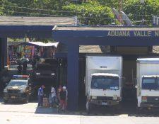 El 23 de enero se pondrá en marcha la declaración anticipada de mercancías en la aduana Pedro de Alvarado, Jutiapa. (Foto Prensa Libre: Hemeroteca PL)