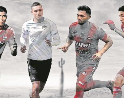 Varios jugadores guatemaltecos que estaban en el extranjero han regresado a la Liga Nacional. (Foto Prensa Libre: )