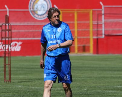 El argentino Sergio Egea confía en devolverle el protagonista a Xelajú. (Foto Prensa Libre: Raúl Juárez)