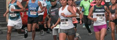 Este domingo se desarrolló la edición 38 de la carrera del Ingeniero, José Carlos González se quedó con el primer lugar y Merlin Chalí ganó la rama femenina. (Foto Prensa Libre:  Norvin Mendoza)