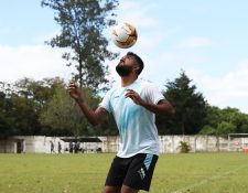 Dewinder Bradley, nuevo delantero de Comunicaciones. (Foto Prensa Libre: Francisco Sánchez).