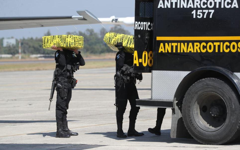 Cocaína decomisada en Petén está valorada en más de Q100 millones