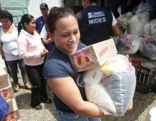 Los programas sociales serán retomados por Alejandro Giammattei. (Foto Prensa Libre: Hemeroteca PL)