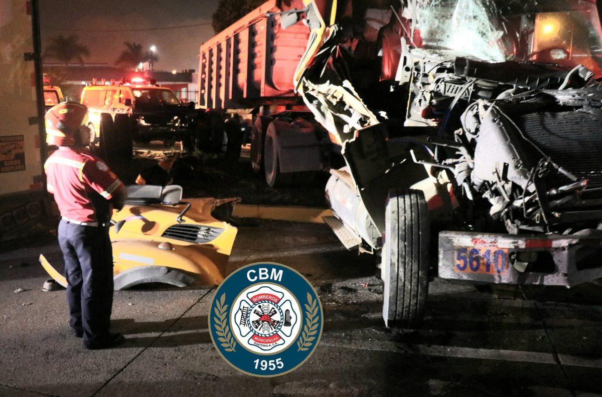 Transporte pesado protagoniza varios accidentes este sábado