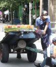 Reducir el trabajo informal es una de las promesas del presidente Alejandro Giammattei. (Foto Prensa Libre: Hemeroteca PL)