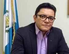 Eddie Fernández, secretario técnico de la Came y director del Instituto de Formación y Capacitación Cívico-Política y Electoral del TSE. (Foto Prensa Libre: Francisco Martínez).