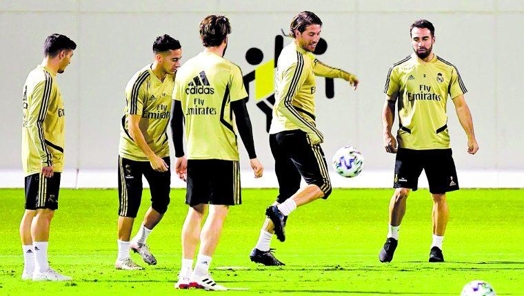 Sergio Ramos, capitán del Real Madrid. (Foto Prensa Libre: Hemeroteca PL)