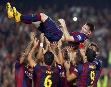 Messi tuvo una década extraordinaria llena de títulos y goles. (Foto Prensa Libre: EFE)