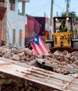 El terremoto de 6.4 grados del pasado 7 de enero causó daños en centenares de viviendas en Puerto Rico. (Foto Prensa Libre: AFP)