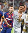 El Barcelona y el Real Madrid son los equipos con la masa salarial más alta. (Foto Prensa Libre:)