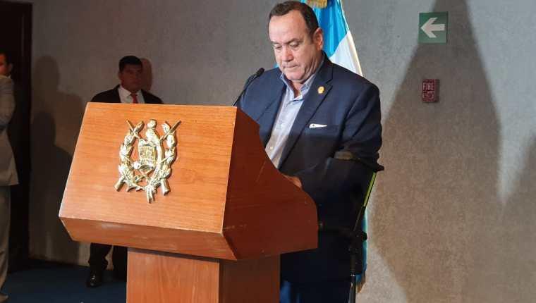 Alejandro Giammattei asumirá la Presidencia este 14 de enero del 2019 (Foto Prensa Libre: Hemeroteca PL)