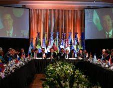 El Grupo de Lima rechazó la elección en la Asamblea Nacional de Venezuela, la que consideraron ilegítima. (Foto Prensa Libre: EFE)
