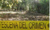 Lugar donde fue localizado el cadáver de Héctor Juárez en la aldea Sibaná, El Asintal, Retalhuleu. (Foto Prensa Libre: Rolando Miranda).