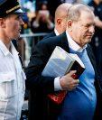 El productor Harvey Weinstein habla sobre las acusaciones de abuso sexual en su contra. (Foto Prensa Libre: EFE).