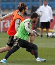 El belga Eden Hazard regresa a los entrenamientos. (Foto Prensa Libre: Real Madrid)