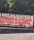 Los bloqueos se mantuvieron por 15 días en San Carlos Nahualate en San Antonio Suchitepéquez. (Foto Prensa Libre: Marvin Túnchez)
