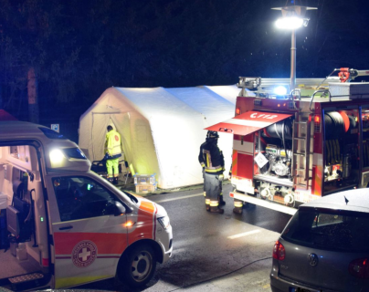 Seis personas murieron en un trágico accidente al norte de Italia. (Foto Prensa Libre: Redes)