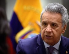 El presidente de Ecuador, Lenín Moreno, dice aspirar a un TLC con Guatemala. (Foto Prensa Libre: EFE)