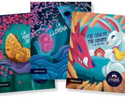 Esta colección de Leyendas de Guatemala que publicará Revista D fueron ilustradas por Diego Sac.