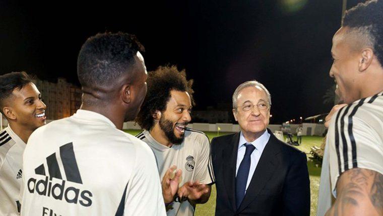 El campeón de la Super Copa no pierde tiempo y sigue su trabajo. (Foto Prensa Libre: Redes)