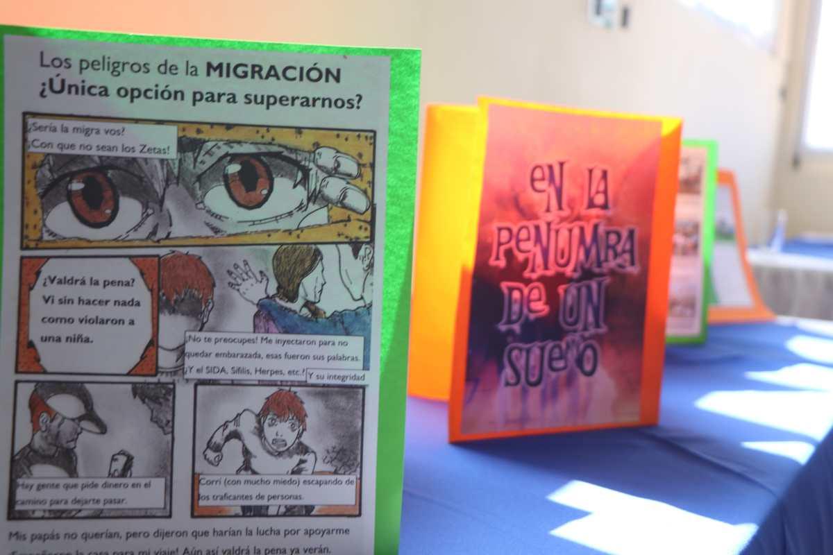 Conoce la iniciativa que usa los cómics para crear conciencia sobre los riesgos de la migración