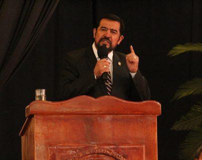 Miguel Ovalle, alcalde de Salcajá, Quetzaltenango, y presidente de la Anam. (Foto Prensa Libre: Facebook, Municipalidad de Salcajá)