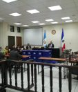 La resolución se dio a conocer en el Centro Regional de Justicia de Quetzaltenango y la audiencia duró más de cinco horas. (Foto Prensa Libre: María Longo)