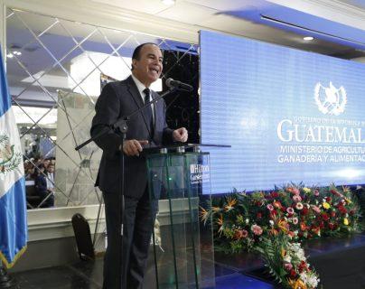 Mario Méndez Montenegro, ministro del Maga. (Foto Prensa Libre: Esbin García)