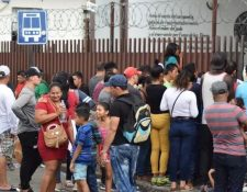 La protección a los migrantes es uno de los compromisos de Alejandro Giammattei. (Foto Prensa Libre: Hemeroteca PL)