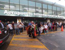 Aeropuerto Internacional La Aurora en la Ciudad de Guatemala. (Foto Prensa Libre: Hemeroteca).