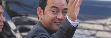 Jimmy Morales entregará la presidencia este 14 de enero a su sucesor, Alejandro Giammattei, que deberá asumir grandes retos para estabilizar al país. (Foto Prensa Libre: Érick Ávila)