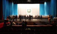 Alejandro Giammattei , presidente hace recorrido en el Teatro Nacional Miguel Angel Asturias donde se llevara a cabo el cambio de gobierno este 14 de Enero 2020.   Fotograf'a. Erick Avila:             13012020