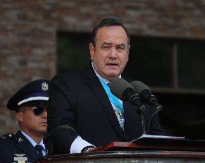 Alejandro Giammattei, presidente de la República. (Foto Prensa Libre: Hemeroteca PL)