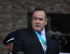 El presidente Alejandro Giammattei propuso crear una entidad contra la corrupción, dirigida desde el Ejecutivo. (Foto Prensa Libre: Érick Ávila)