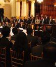 Alicia Bárcena Ibarra, secretaria Ejecutiva de la Cepal precisó sobre los retos que Guatemala deberá de afrontar, así como el cumplimiento de plan de Gobierno que fue presentado por Segeplan, que este articulado con otras políticas públicas. (Foto Prensa Libre: Noé Medina)