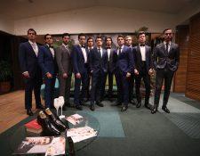 La Nueva Casa Saúl viene para proveer trajes de última moda en un ambiente agradable para los caballeros. Foto Prensa Libre: Norvin Mendoza  foto Carlos Hernández