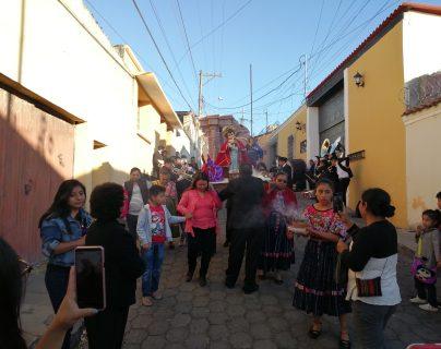 La imagen ha estado en Quetzaltenango por cinco años. (Foto Prensa Libre: María Longo)