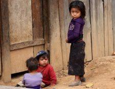 La desnutrición crónica afecta a la mitad de los niños guatemaltecos menores de 5 años. (Foto Prensa Libre: Hemeroteca PL)