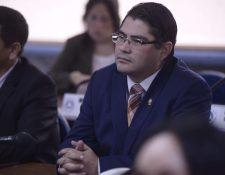 Othmar Sánchez no podrá asumir como diputado del Parlacén en su segundo periodo. (Foto Prensa Libre: Hemeroteca).