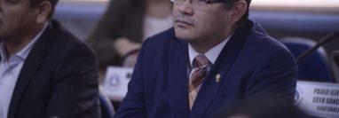 Othmar Sánchez no podrá tomar posesión para su segundo periodo en el Parlacén