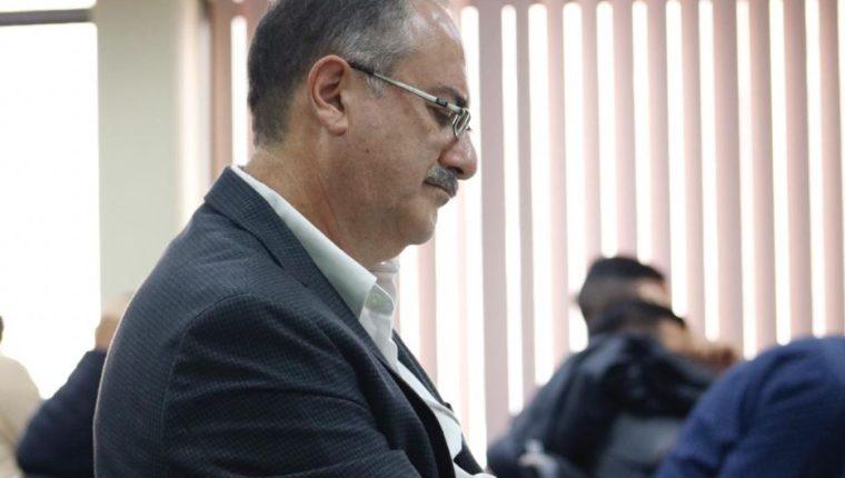 Pedro Muadi, expresidente del Congreso. (Foto Prensa Libre: Fernando Cabrera).