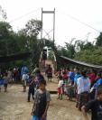 En la página de Facebook de la Central Rocja Pontila se informa que han efectuado diversos proyectos sociales en el área. (Foto, Prensa Libre: Facebook).