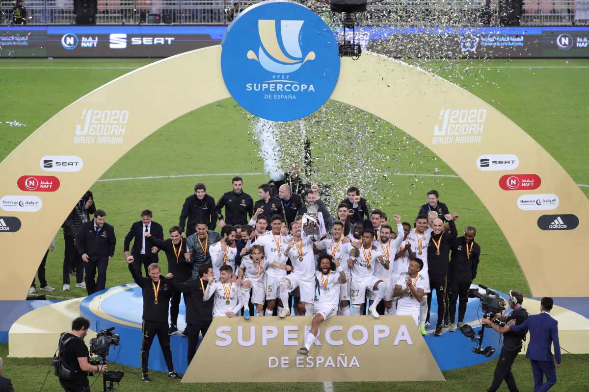 El Real Madrid defiende la corona de supercampeón de España
