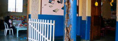 En Retalhuleu hay 60 edificios escolares que necesitan ser reparados. (Foto Prensa Libre: Rolando Miranda)
