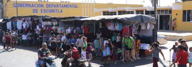 Vecinos de Escuintla quieren que el próximo gobernador del departamento sea electo sin que haya compadrazgo con el Ejecutivo. (Foto Prensa Libre: Carlos Paredes)