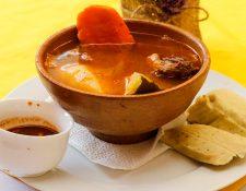 Los días que se come chojin en San Sebastián, Retalhuleu son el 19 y 20 de enero como una tradición de feria patronal en honor a San Sebastián Mártir. (Foto Prensa Libre: Rolando Miranda)