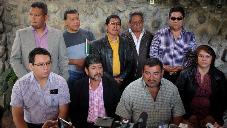 La anterior corporación es denunciada en el Ministerio Público por malos manejos de Q3 millones en la comuna de Huehuetenango. (Foto Mike Castillo)