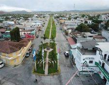 La comuna de Ipala, Chiquimula anunció la reactivación del transporte colectivo a partir del 4 de mayo.   (Foto Hemeroteca Prensa Libre: Dony Stewart)