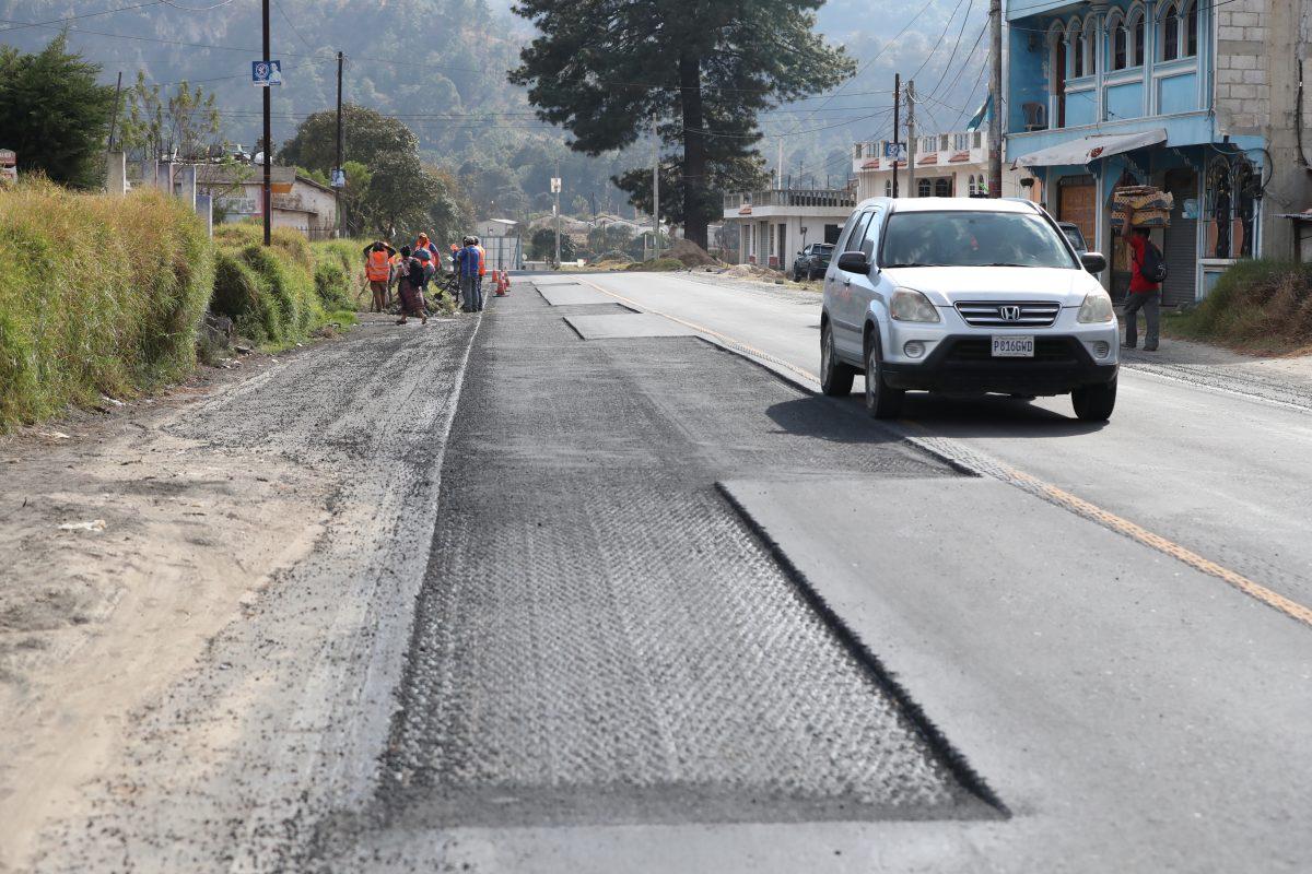 48 Cantones de Totonicapán señalan deficiencias en reparación de ruta en la que se invirtieron Q34.6 millones